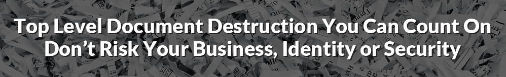 Document Destruction Services
